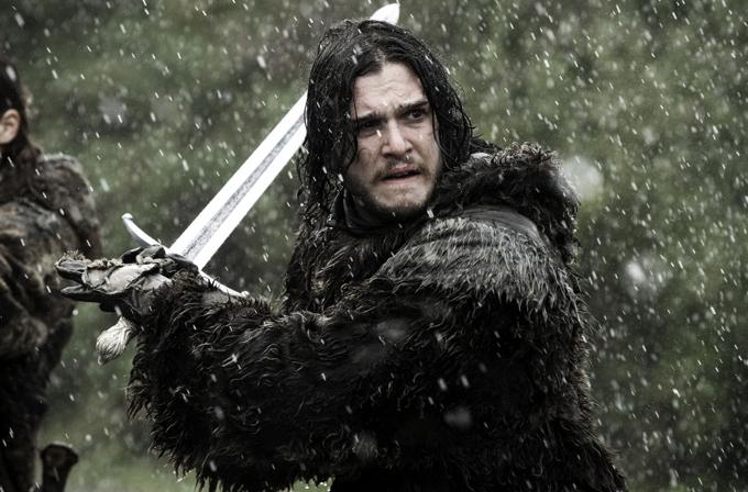 Jon Snow'un kılıcı hayat buldu