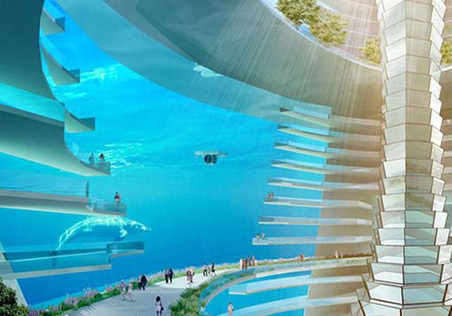 Çin'de su altı şehri planlanıyor