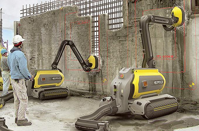 Türk tasarımcının yaptığı robotlar beton yiyor