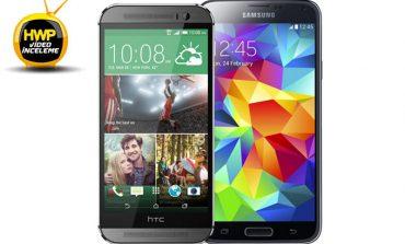 Video: HTC One M8 ve Samsung Galaxy S5 karşı karşıya