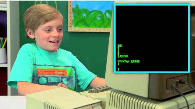 Video: Çocukların eski bilgisayara tepkisi