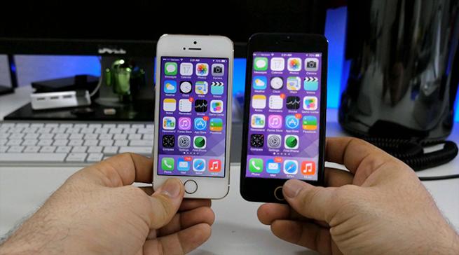 4.7 inç boyutta iOS nasıl gözükür?