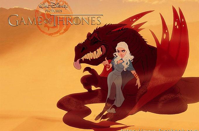 Galeri: Game of Thrones karakterleri Disney stilinde