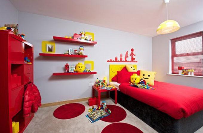 Lego aşıklarına: Lego temalı oda tasarımı