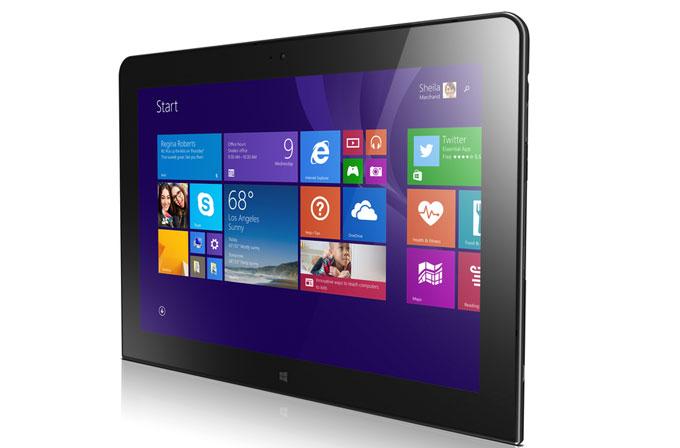 Lenovo'dan 64-bit Windows 8.1'li tablet: ThinkPad 10