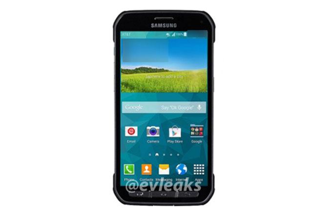 Galaxy S5 Active gözüktü