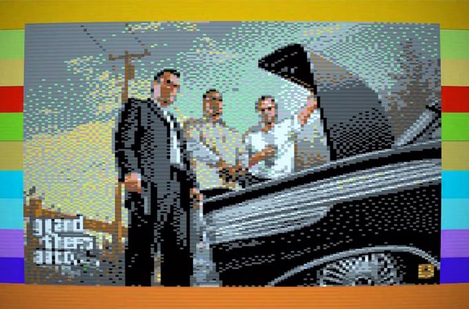 Video: GTA V'i Commodore 64'te oynasak ya?