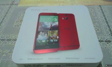 Maviden sonra şimdi de kırmızı HTC One M8