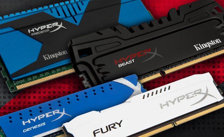HyperX, yeni nesil Intel sistemlere de güç verecek