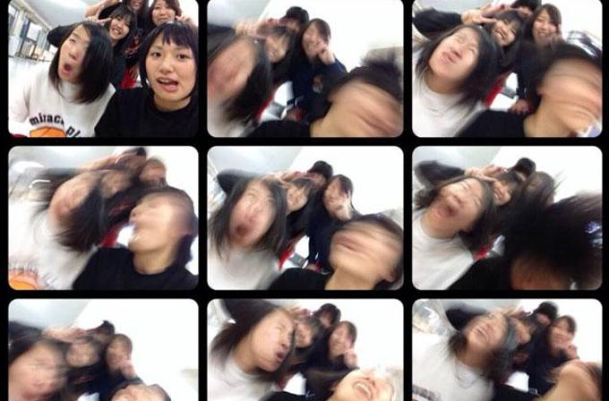 Japonların yeni selfie çılgınlığı