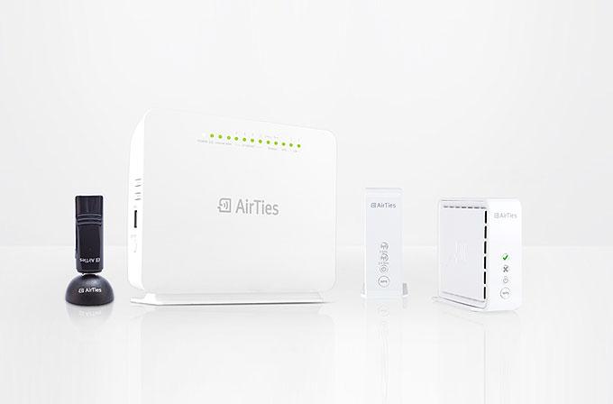 Airties, 11ac teknolojisiyle donatılmış dört yeni ürün tanıttı