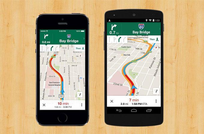 Google Maps'in iOS ve Android uygulamalarına önemli güncelleme!