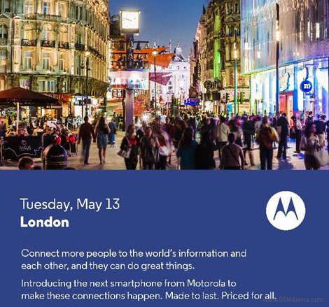 Motorola, 13 Mayıs'ta Moto X+1'i mi tanıtacak?