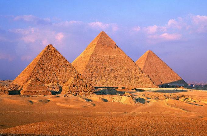 Piramitlerin yapımı için önemli ipucu