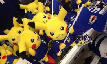 Pikachu, Dünya Kupası için her yerde!