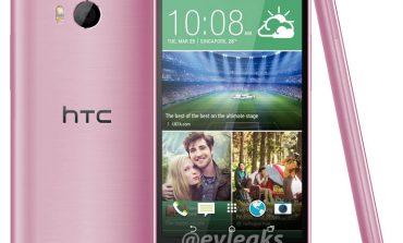 Pembe renkli HTC One (M8) ortaya çıktı