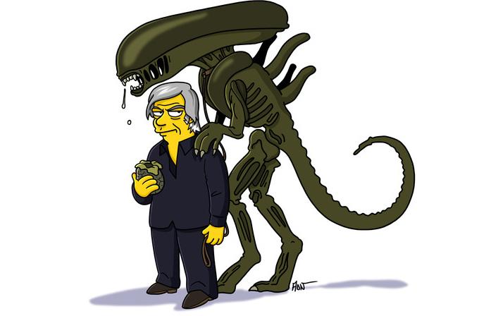 Galeri: Ünlü dizilerin The Simpsons halleri