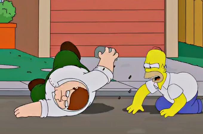 The Simpsons Guy: İki fenomen çizgi dizinin bir araya geliş tarihi çok yakın!