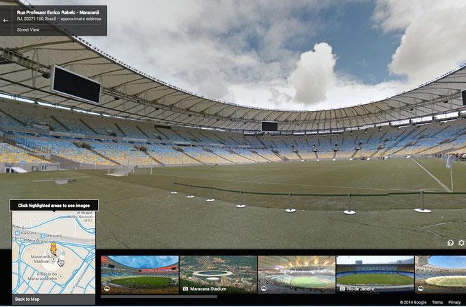 Google Maps ile Dünya Kupası heyecanını yaşayın