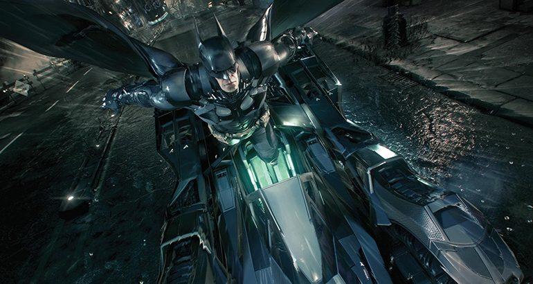 Video: Gotham'da artık yaya değilsin Batman!