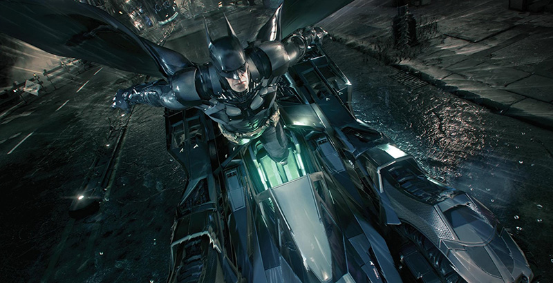 Batman Arkham Knight - Batmobile
