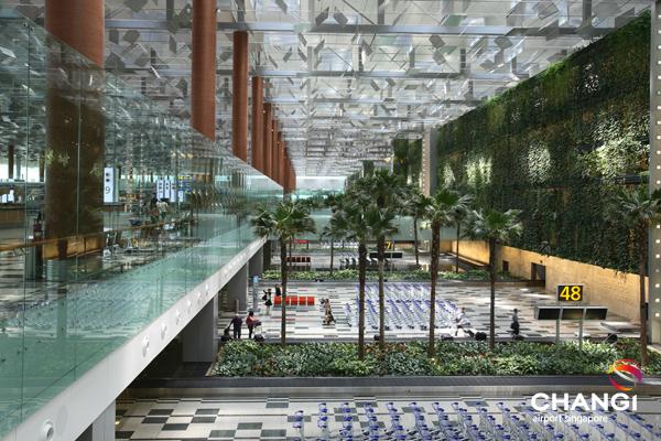 Changi yeşil duvarı