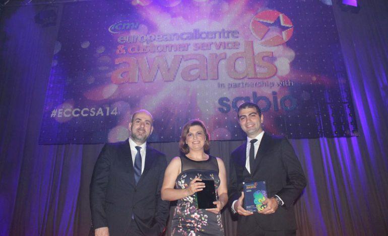 """Turkcell Global Bilgi, Avrupa'da  """"En İyilerin En İyisi"""" seçildi"""