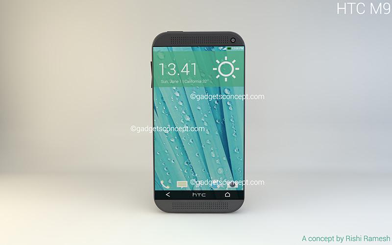 Rishi Ramseh HTC One M9 konspet tasarımı