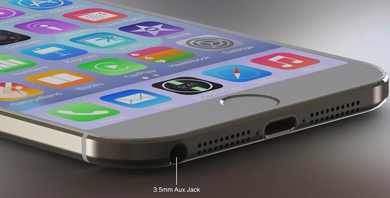 iOS 8'li iPhone 6 konspet tasarımı - Alt kısım