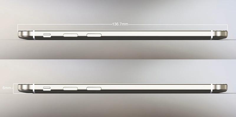 iOS 8'li iPhone 6 konspet tasarımı - İncelik