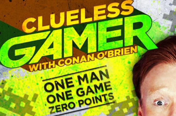 Video: Conan O'Brien'dan çıkmamış oyuna inceleme