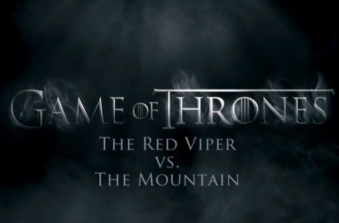 Video: Game of Thrones hayranları, Red Viper vs Mountain dövüşünü izlerken (Spoiler İçerir)