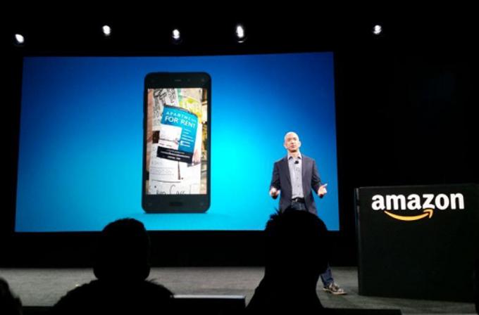 Amazon, nihayet 3D ekranlı telefonu Fire Phone'u tanıttı