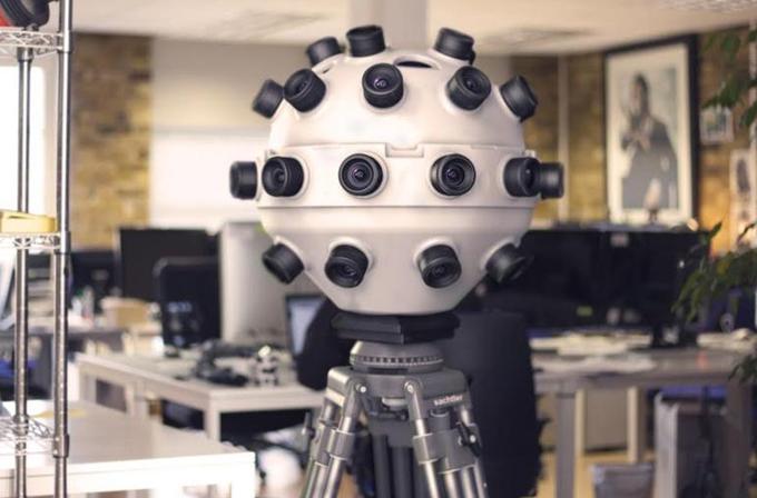 Panopticam, sanal gerçeklik cihazları için 360 derece çekim yapabiliyor