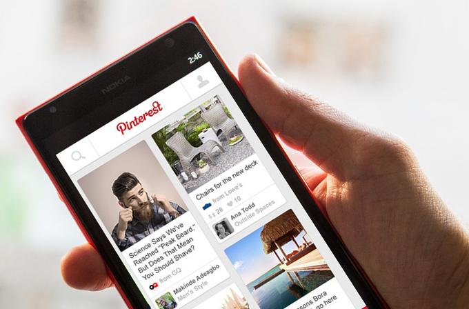 Pinterest, sonunda Windows Phone'a geliyor
