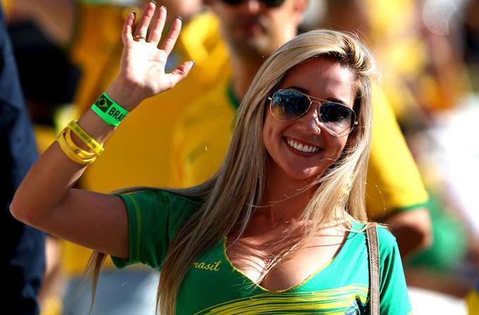 Galeri: Dünya Kupası'nın güzelleri