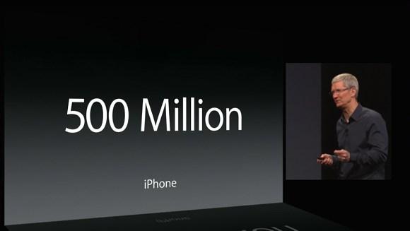 Dünyada yarım milyardan fazla Apple kullanıcısı var
