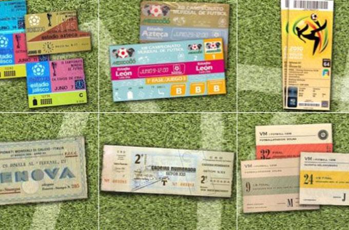 Galeri: 80 yıllık Dünya Kupası bilet tasarımları tarihi