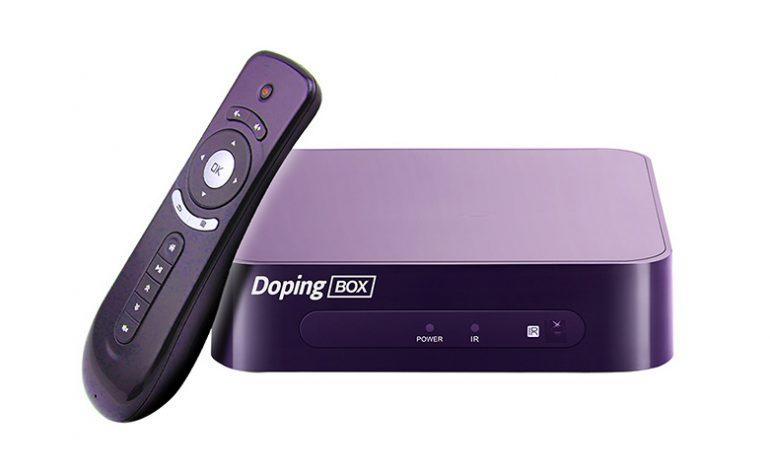 Dilediğince eğlence DopingBox ile televizyonunda