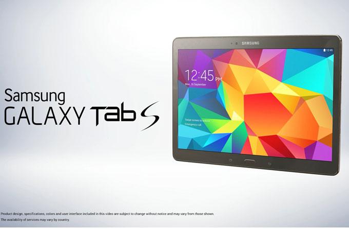 Samsung Galaxy Tab S tüm detaylarıyla sızdırıldı
