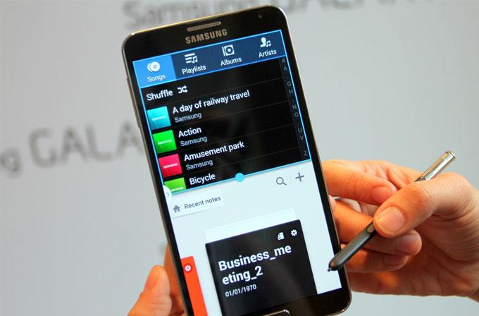 Galaxy Note 4'ün ekran özellikleri onaylandı!