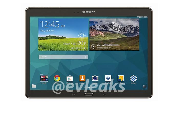 Samsung Galaxy S Tab 10.5'ten yeni görseller