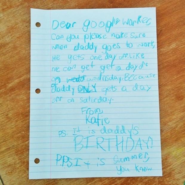 Katie'nin mektubu