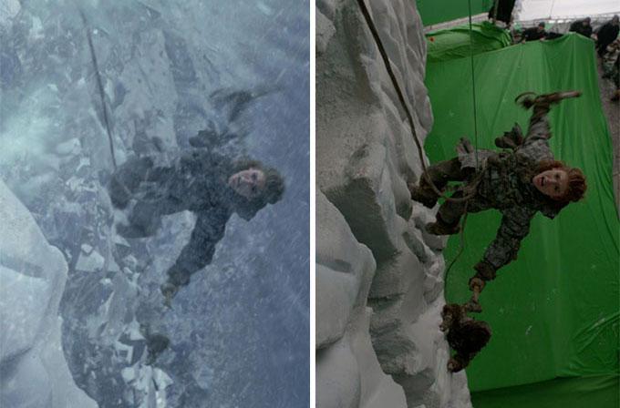 Galeri: Öncesi ve sonrasıyla filmlerde uygulanan görsel efektler