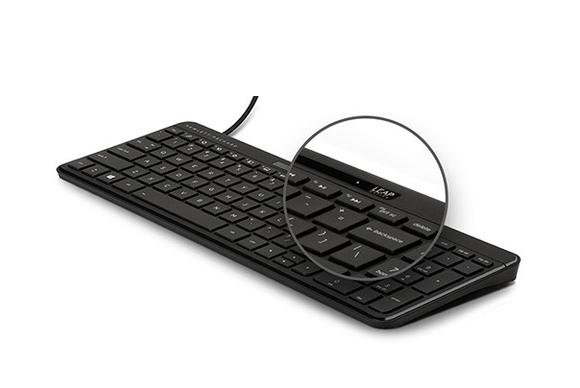 HP'nin Leap Motion klavyesi