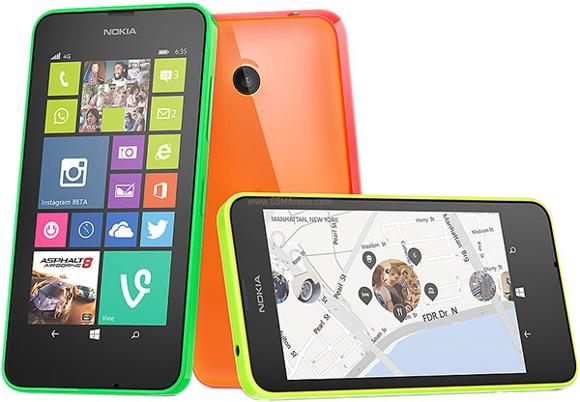 4G'li Lumia 635'ler satışa çıktı!