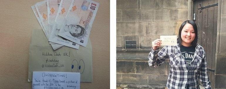 İngiltere Twitter üzerinden para dağıtan bu hayırseveri konuşuyor