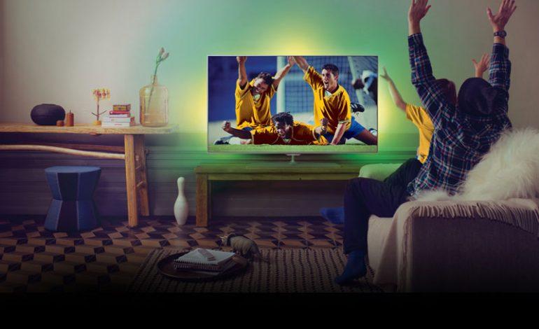 Yeni Philips Ambilight TV uygulamasıyla  futbol izlemek artık daha eğlenceli