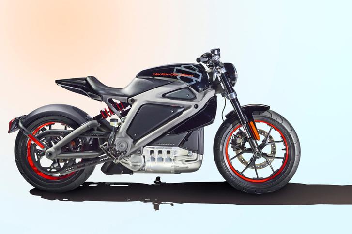 Harley-Davidson'ın elektrikli motosikleti