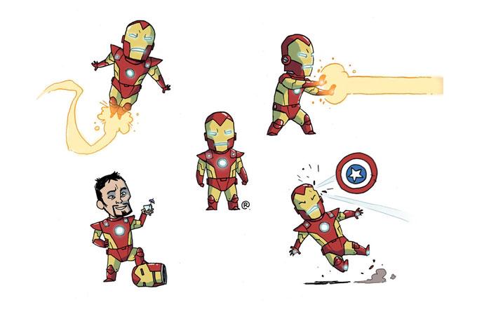 Galeri: Süper Kahramanların minik halleri